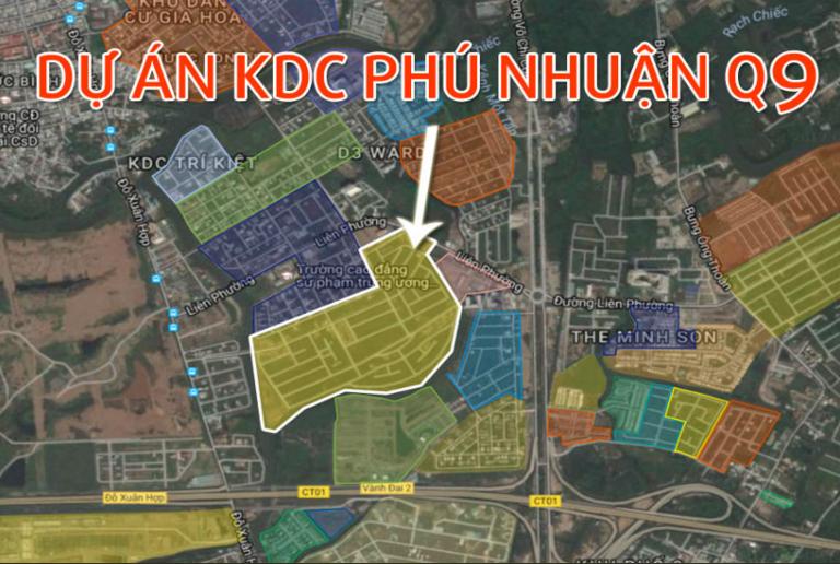 Khu Dân Cư Phú Nhuận Quận 9 - 0907661916