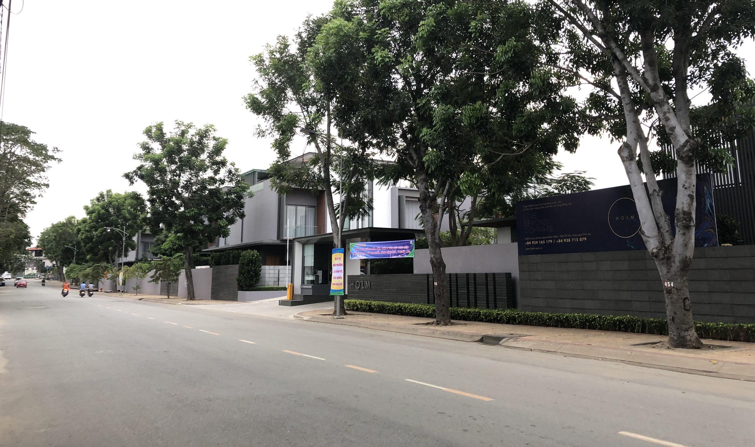 Đất mặt tiền Nguyễn Văn Hưởng Thảo Điền, Quận 2