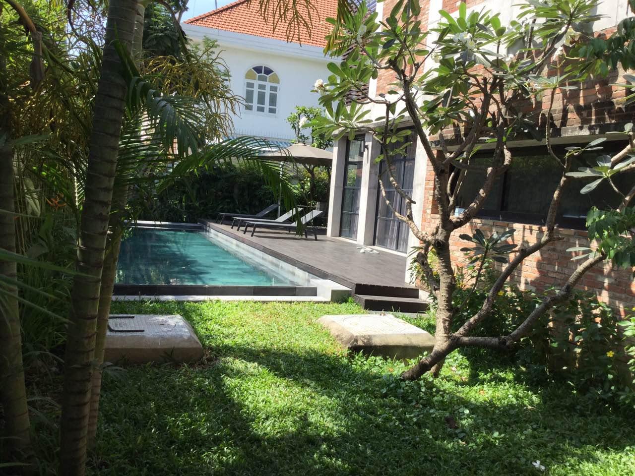 Hình Hồ bơi biệt thự Phú Nhuận Thảo Điền Quận 2