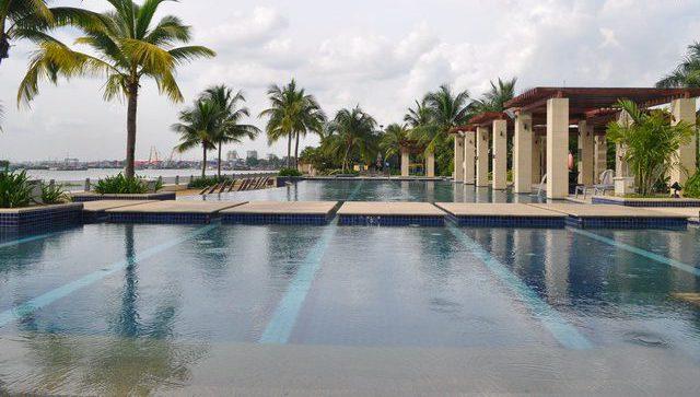 Hồ bơi biệt thự Riviera Villa Giang Văn Minh Quận 2