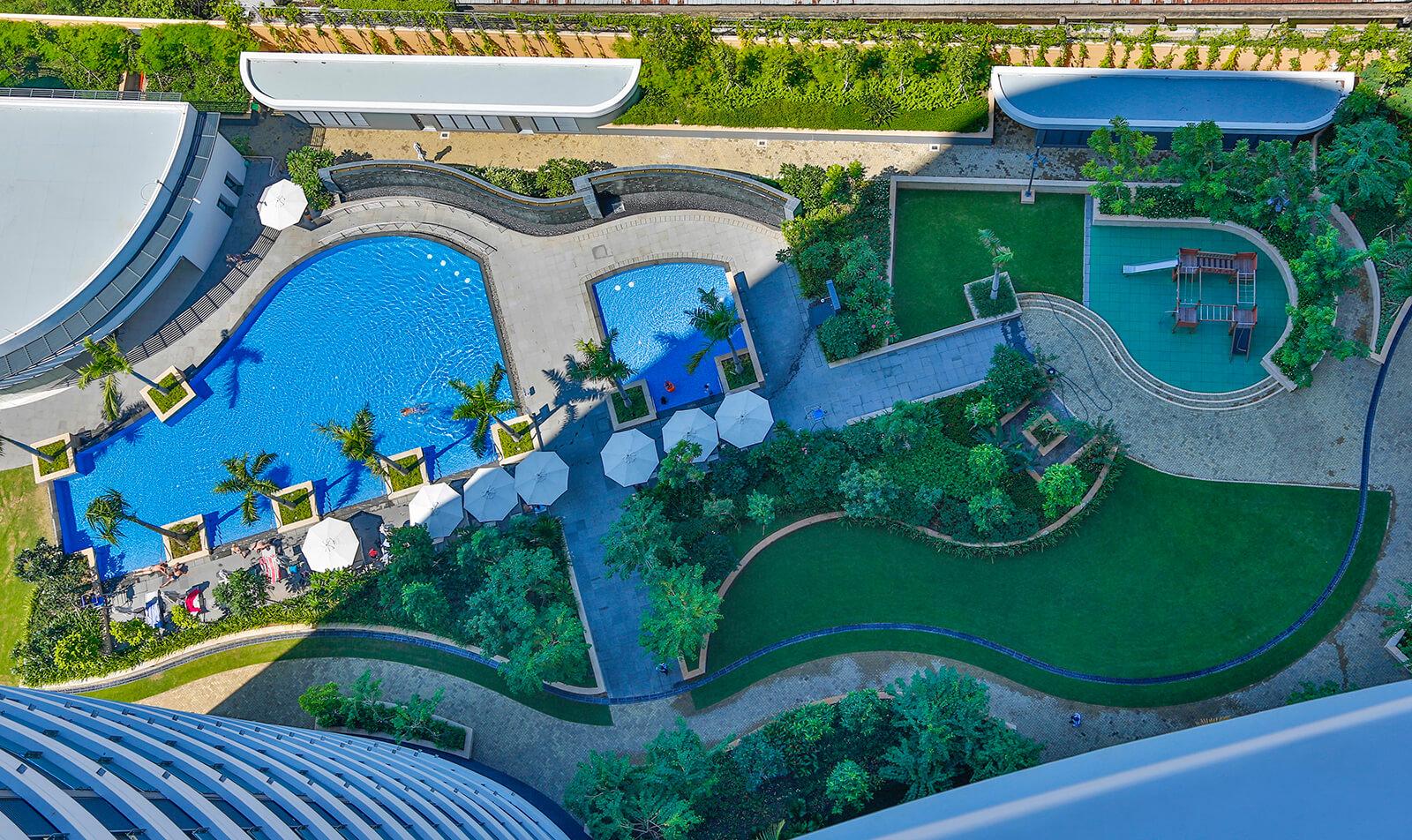 Hồ bơi City Garden Bình Thạnh