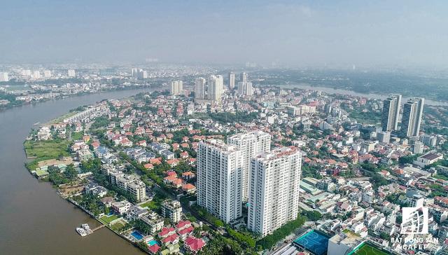Biệt thự bờ sông Thảo Điền cần bán (ảnh nguồn Cafef)