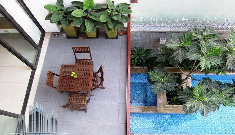 Hồ bơi biệt thự siêu đẹp Thảo Điền Quận 2