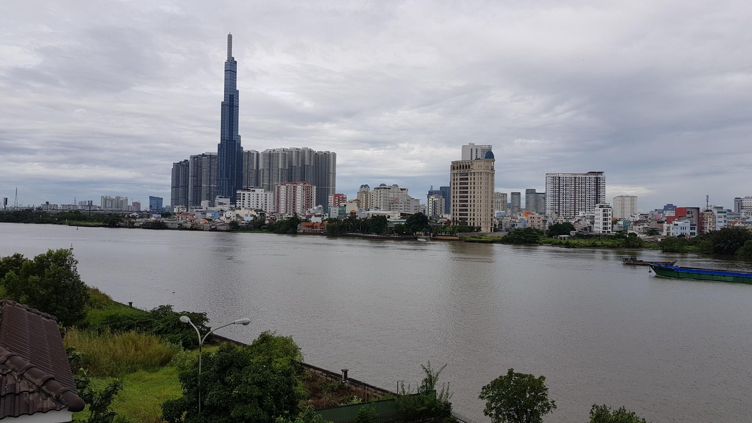 Tầm view giá trị thực tế căn biệt thự Thảo Điền Quận 2 mặt tiền sông