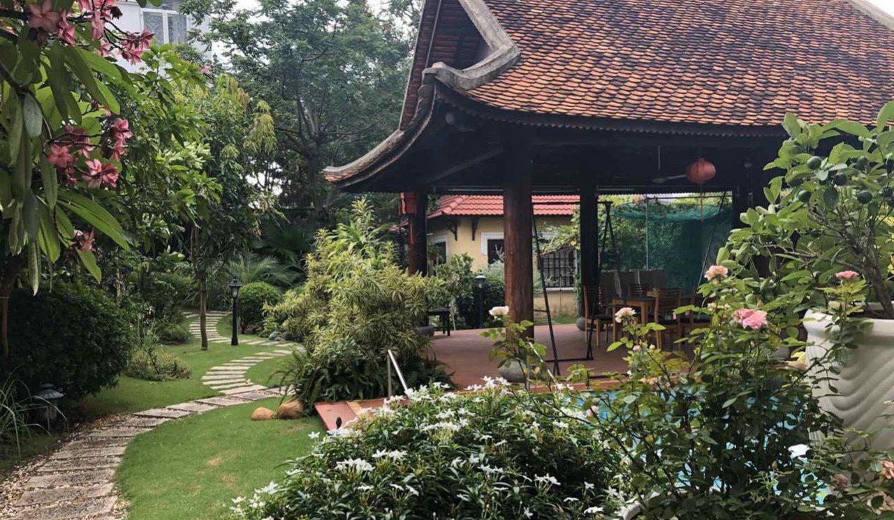 Bán biệt thự khu kim Sơn Thảo Điền diện tích lớn