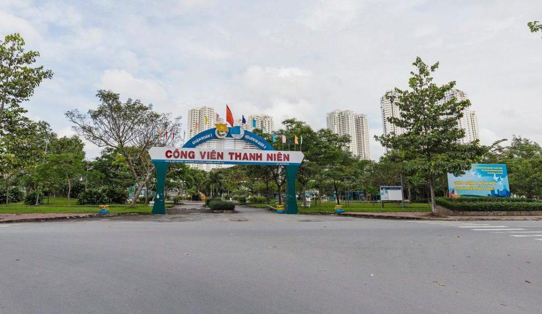Bán biệt thự An Phú An Khánh Quận 2 đối diện công viên