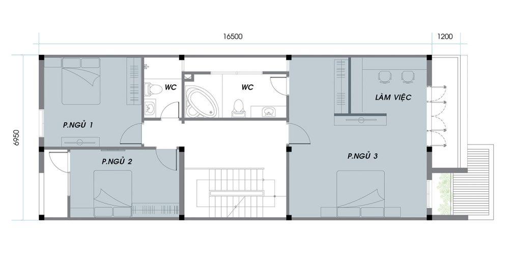 Thiết kế chi tiết An Phú News City Quận 2 tầng 1