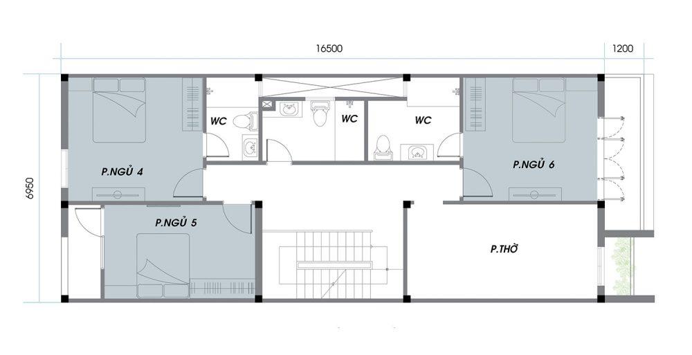 Thiết kế chi tiết An Phú News City Quận 2 tầng 2