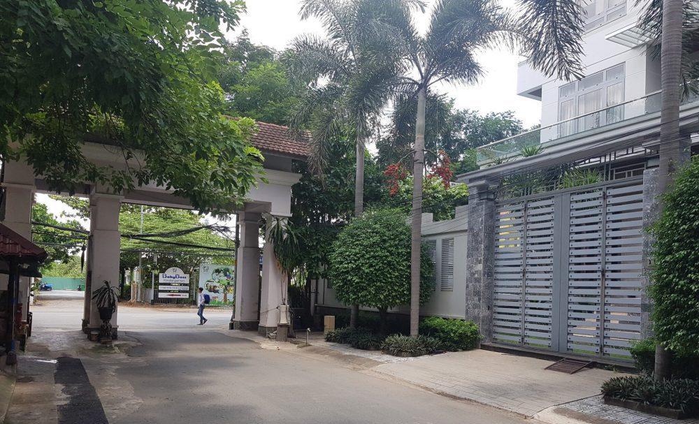 Bán đất khu Kim Sơn Thảo Điền diện tích lớn